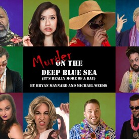 "Murder on the Deep Blue Sea (It's Really More of Bay)"" Online Murder Mystery"
