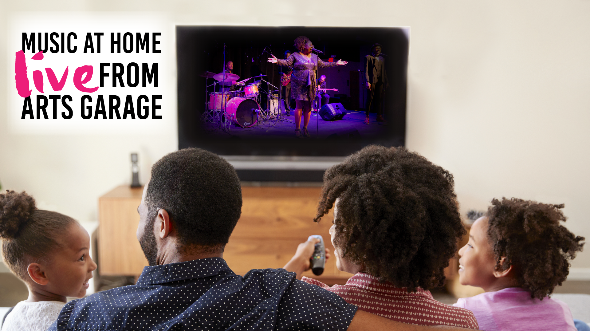 Music at Home: Live from Arts Garage -- Online