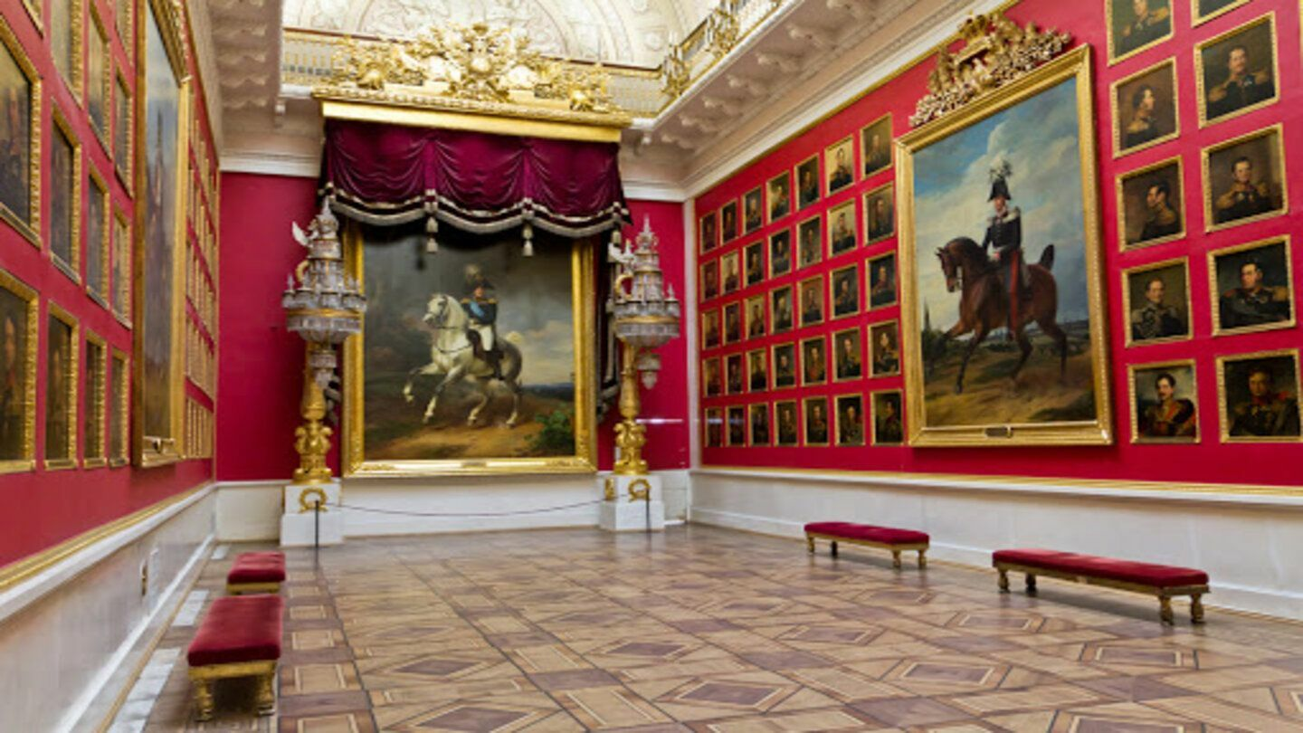 The Hermitage: Art Only -- Online Tour
