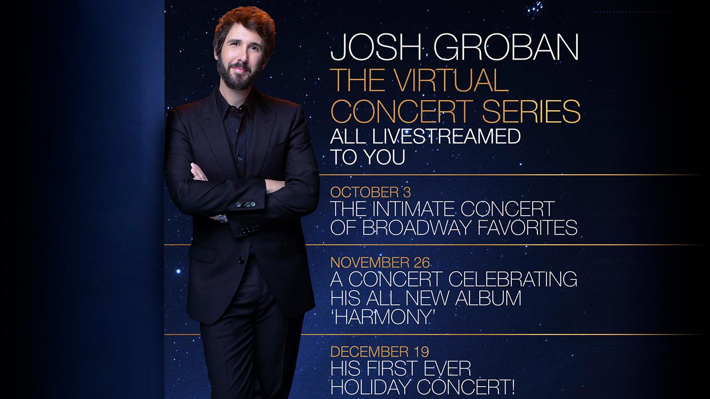 Josh Groban: The Virtual Concert Series