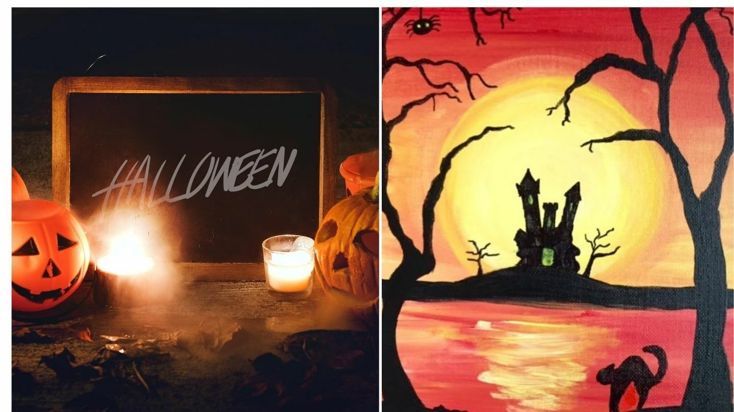 Virtual Halloween Painting Party