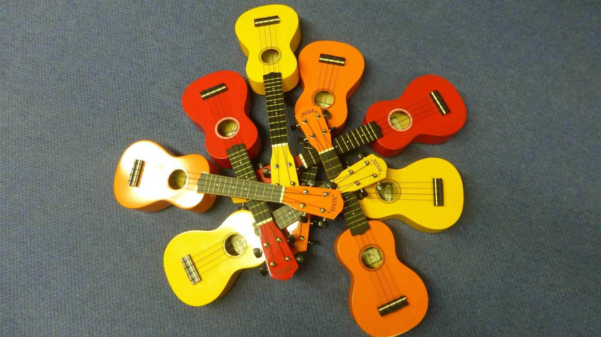 Virtual Ukulele Jam With the Honeyville Rascals