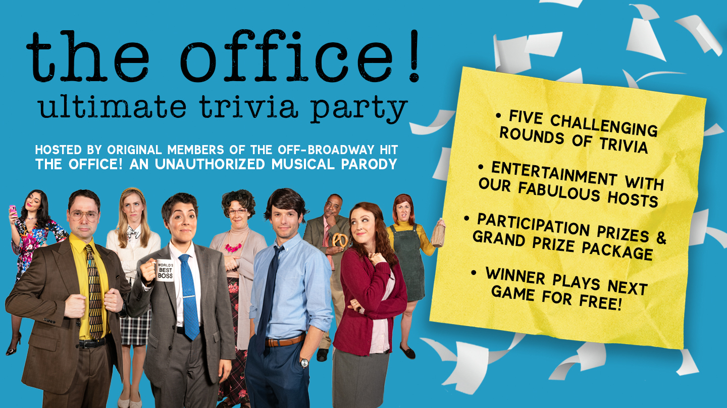 """""""The Office!"""" Ultimate Online Trivia Party"""