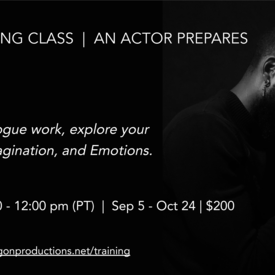 An Actor Prepares -- Online Course