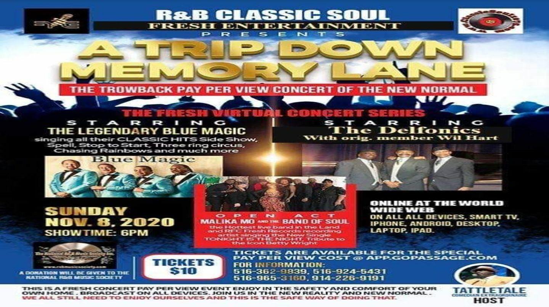 Live R&B Classic Soul Concert Online
