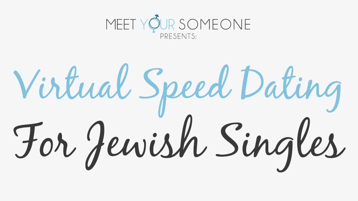 Virtual Speed Dating for Jewish Singles - Chicago