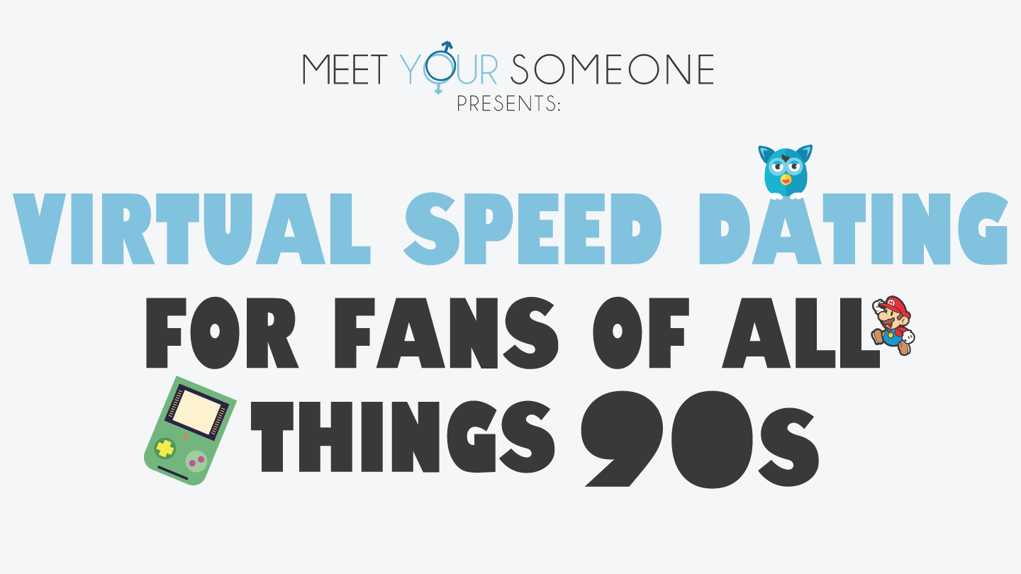 Virtual Speed Dating for Fans of All Things 90s - Chicago
