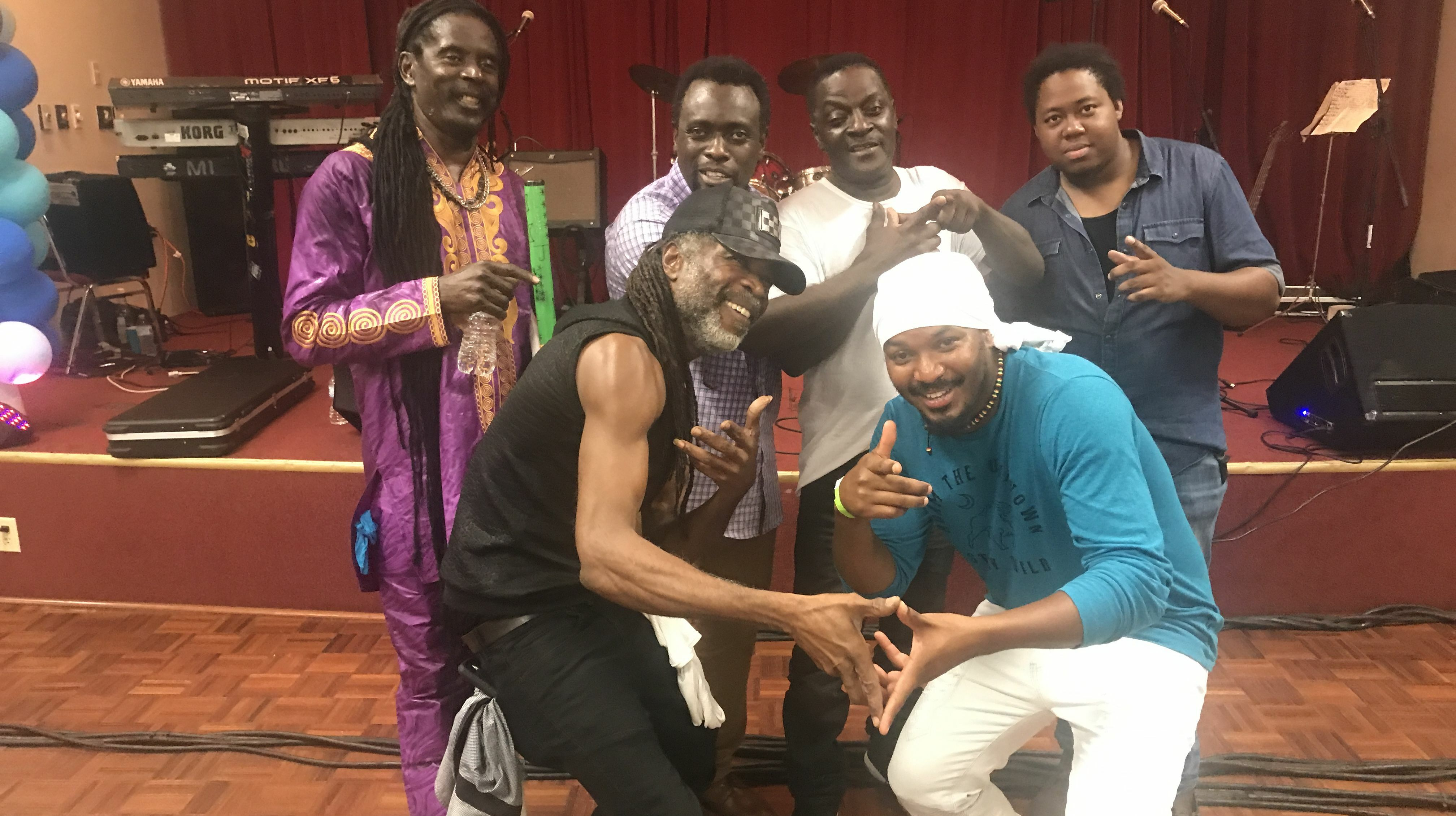Ifrolix Reggae Band Performs With Classic Singers - YouTube Video