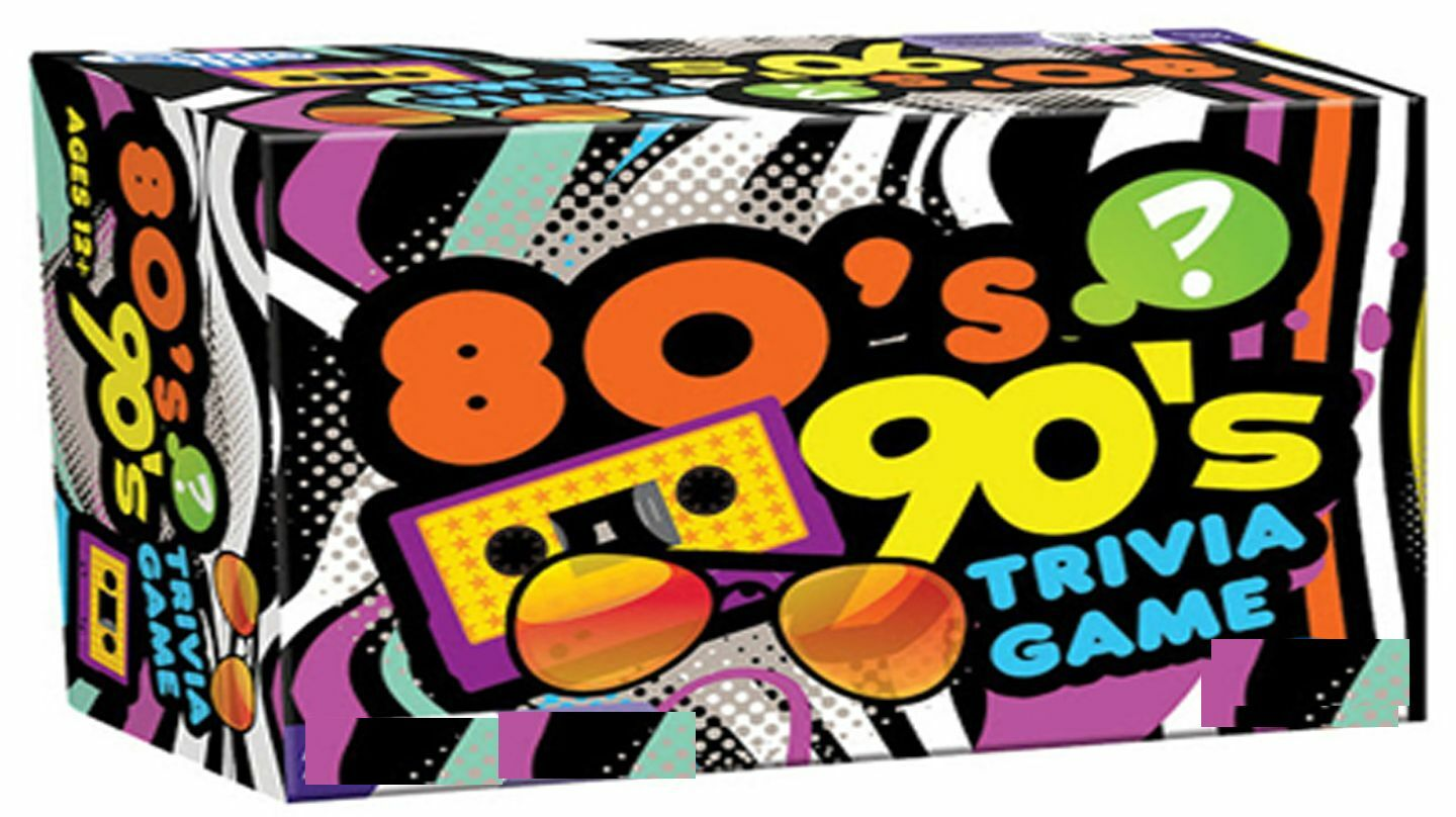 80s & 90s Virtual Trivia: Movies, Music, Sports, TV, Culture