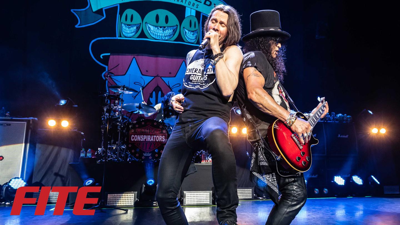 "Slash Featuring Myles Kennedy & The Conspirators: ""Living The Dream Tour"" -- Online Concert"