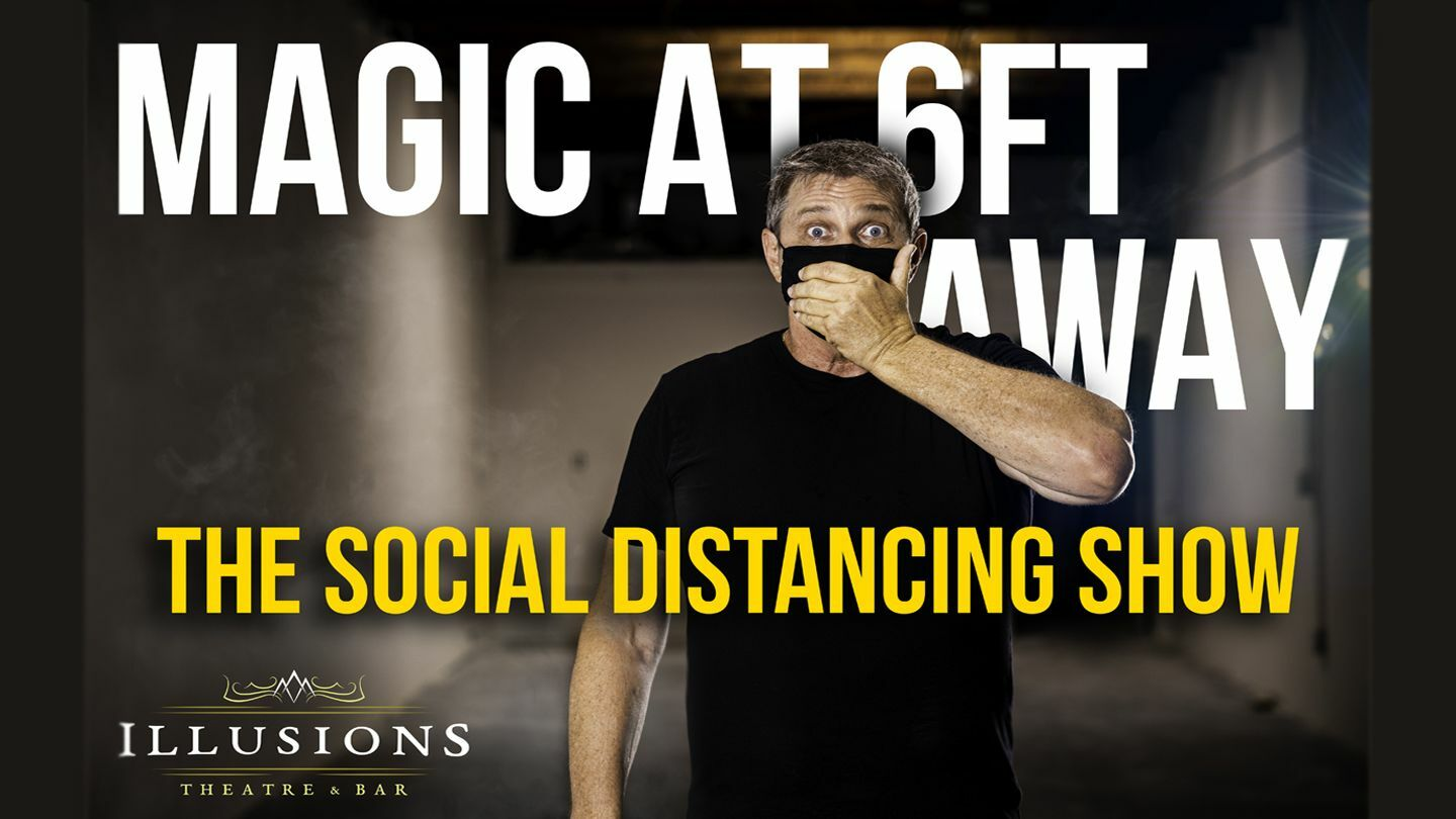 Fun Night Out With Magic: Live & In-Person at Illusions Theatre & Bar