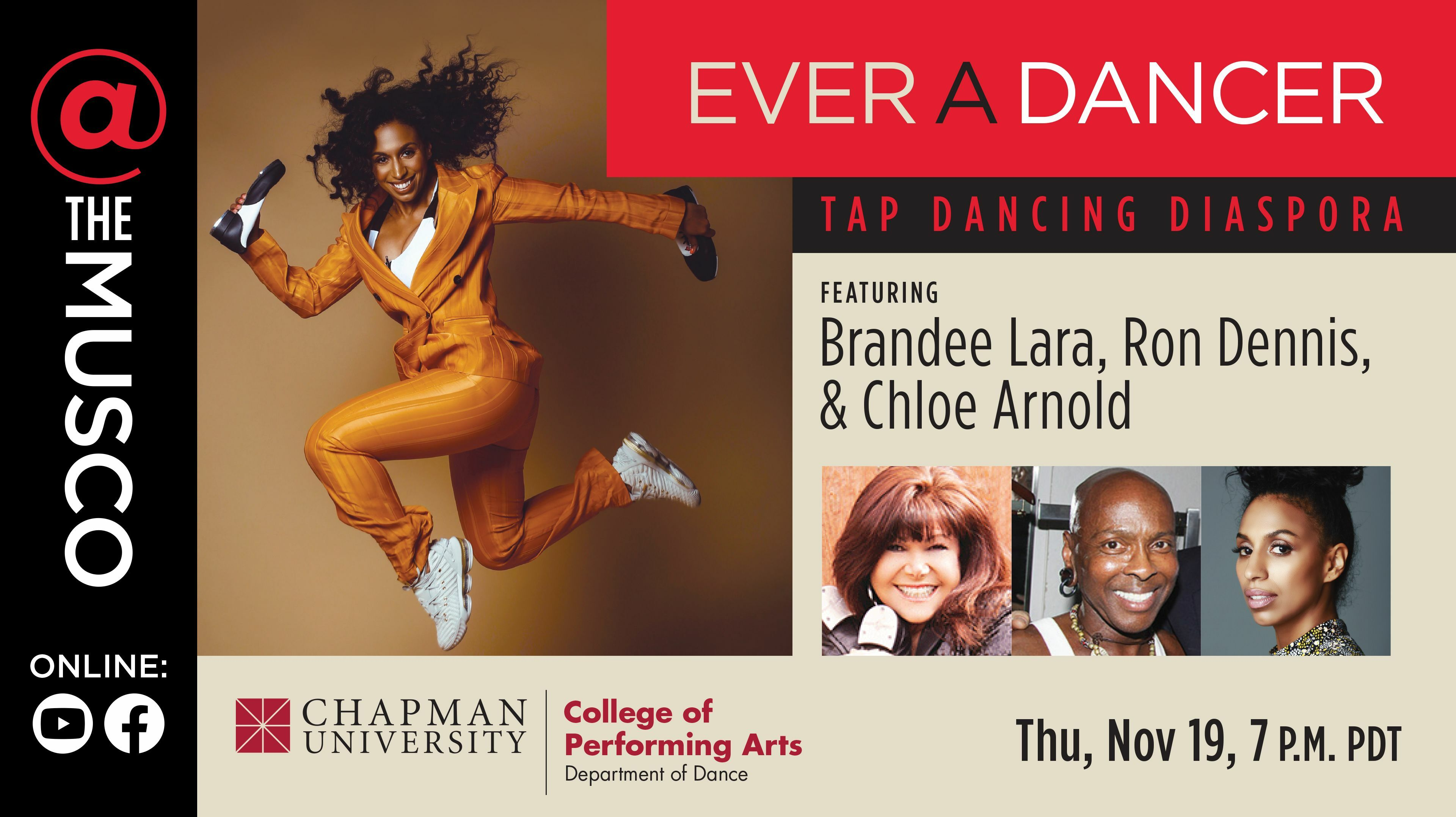 Tap Dancing Diaspora -- Online