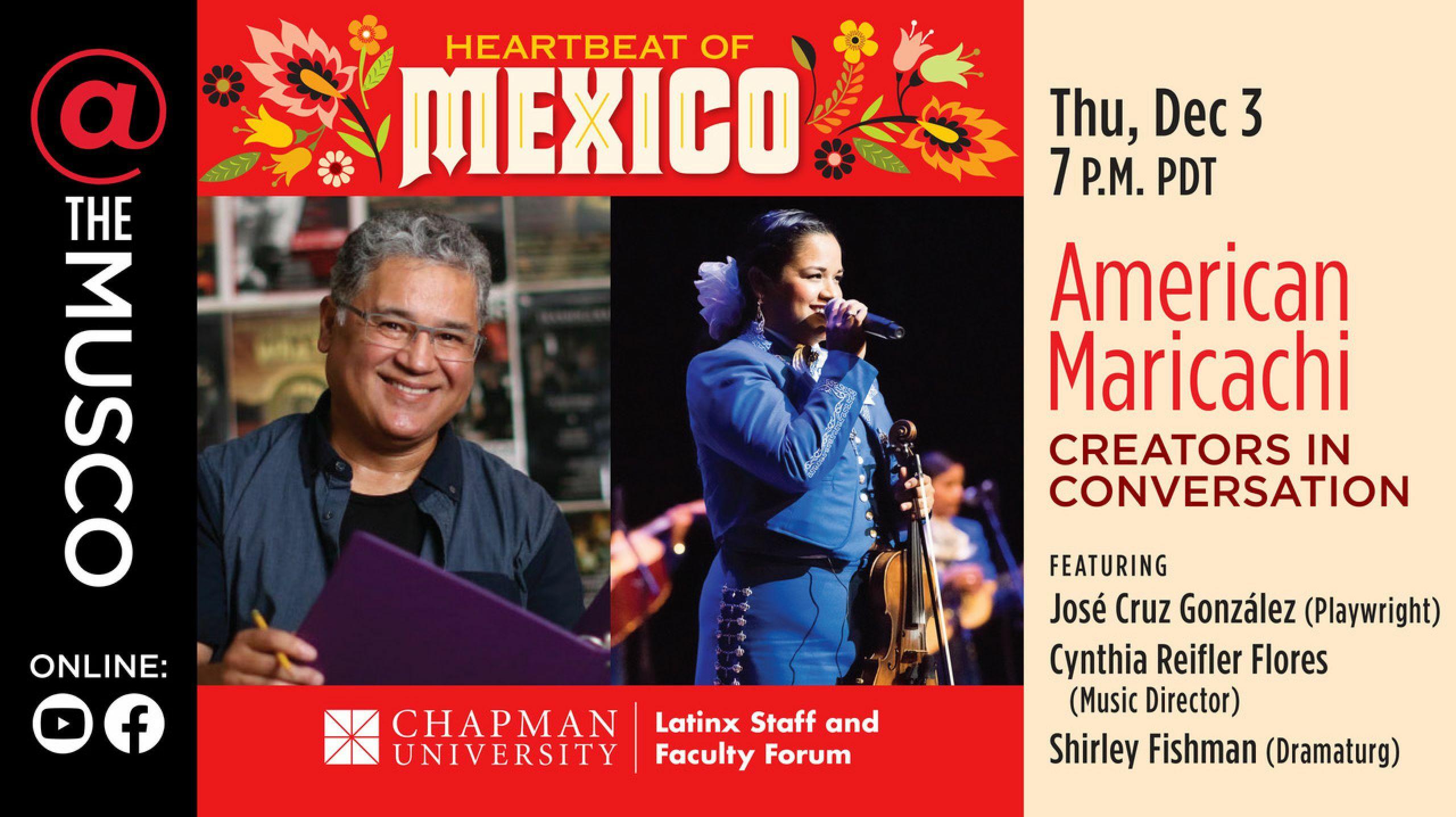 American Mariachi: Creators in Conversation -- Online