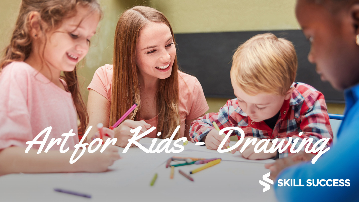 Art For Kids: Building Confidence Through Drawing -- Online