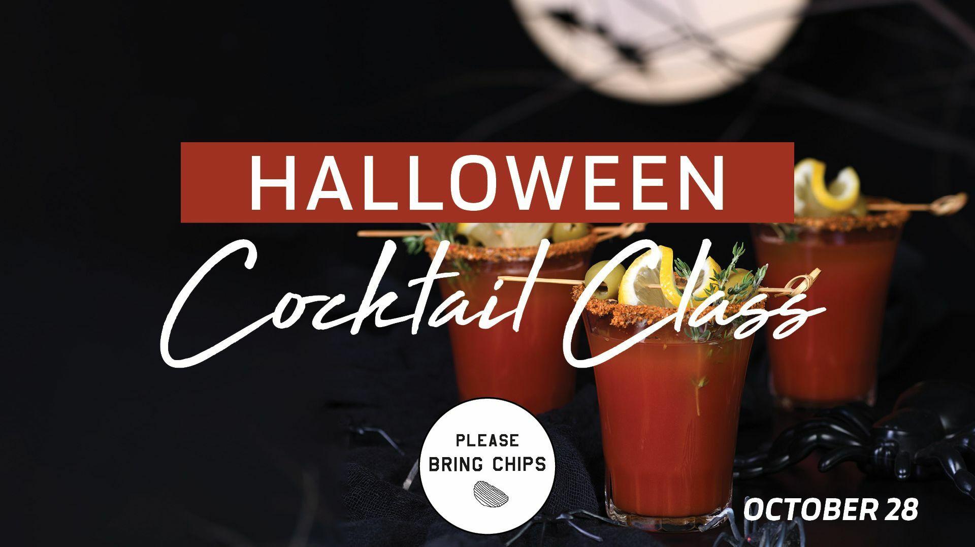 Virtual Cocktail Class: Halloween Drinks