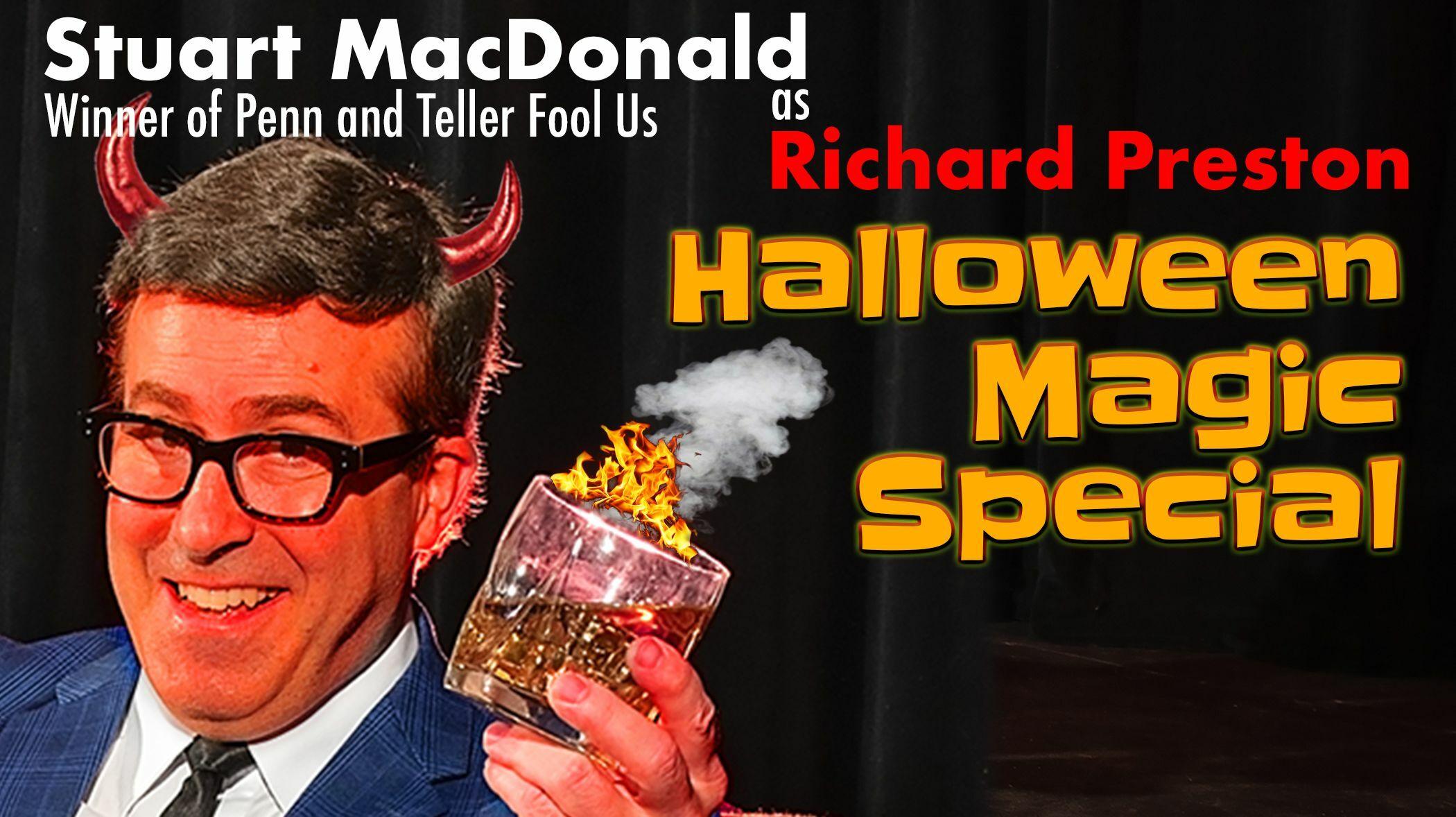 Richard Preston's Halloween Magic Special -- Online