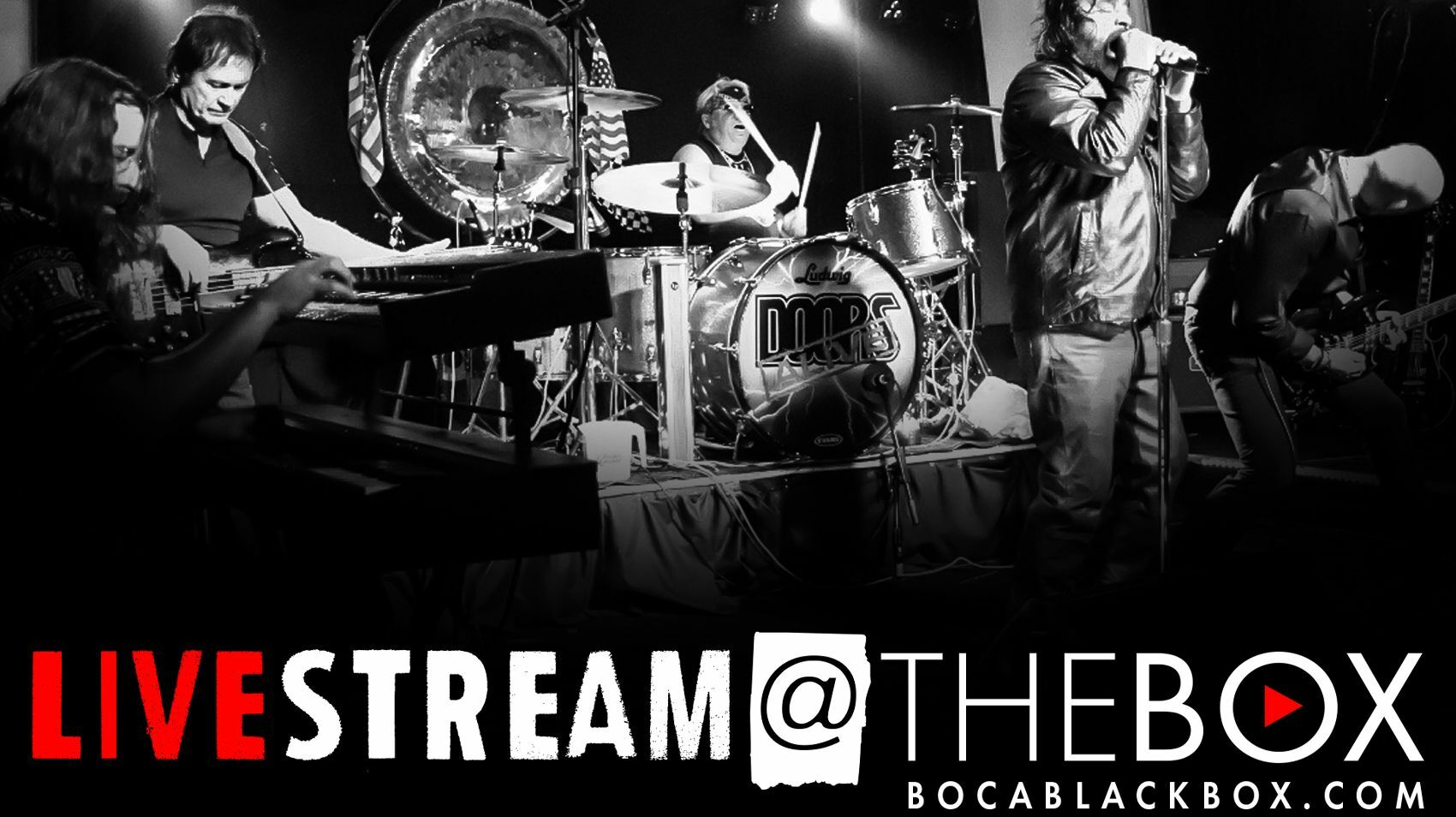 """Doors Alive: A Tribute to the Doors -- """"Livestream @ The Box"""""""