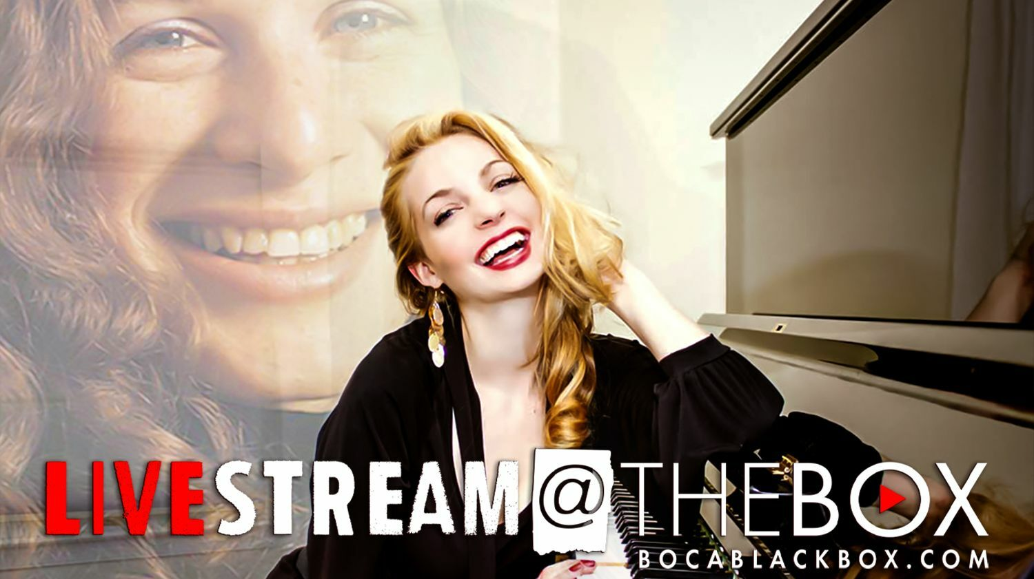 """An Evening of Carole King with Grace Field """"Livestream @ The Box"""""""