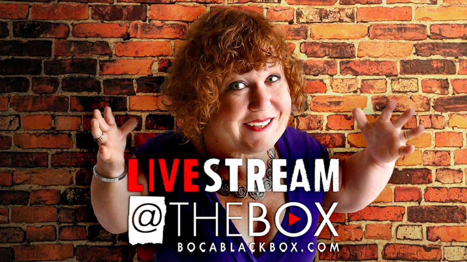 "Comedian Tanyalee Davis: ""Livestream @ The Box"""