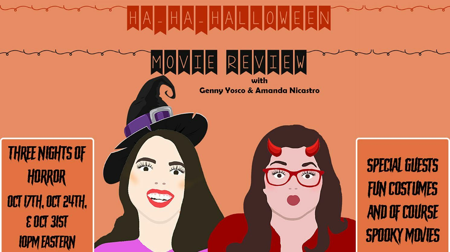 Ha-Ha-Halloween Movie Review -- Online