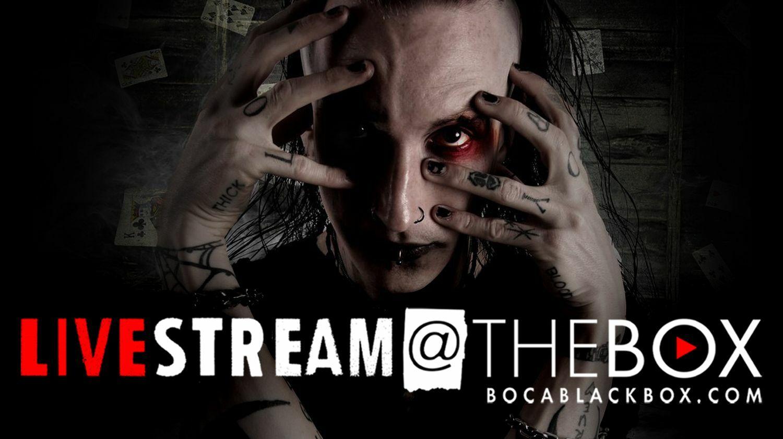 "Shock Illusionist Dan Sperry: ""Livestream @ The Box"""