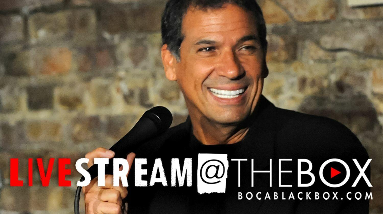 "Comedian Bobby Collins: ""Livestream @ The Box"""