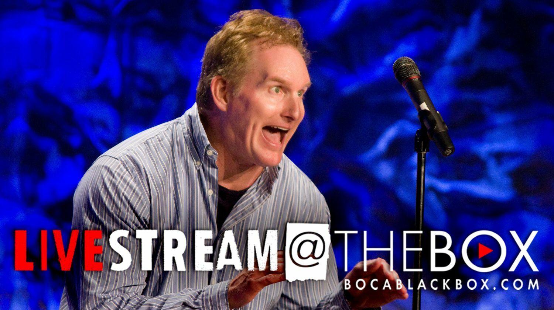 "Comedian Greg Hahn:""Livestream @ The Box"""