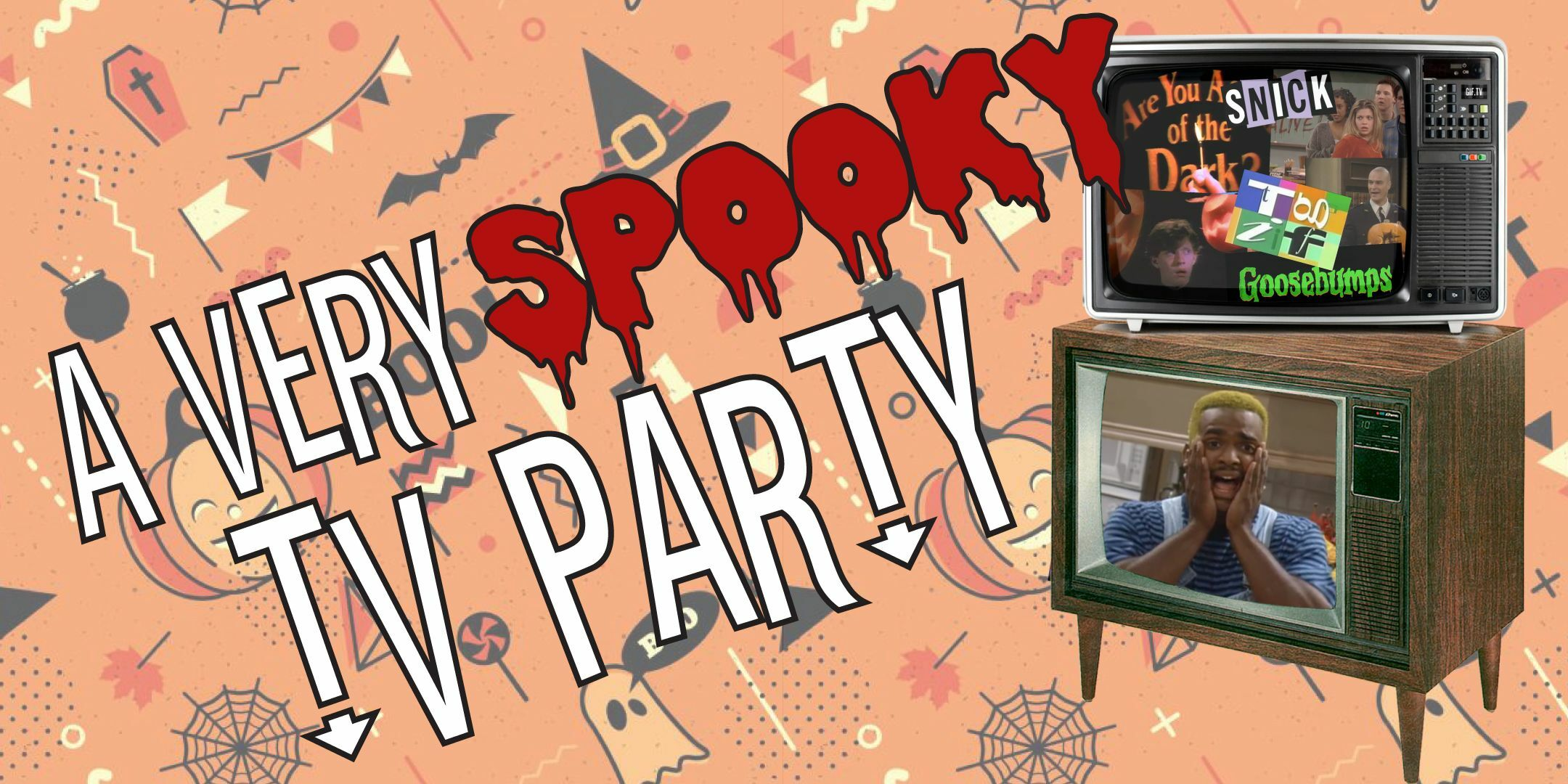A Very Spooky TV Party -- Online