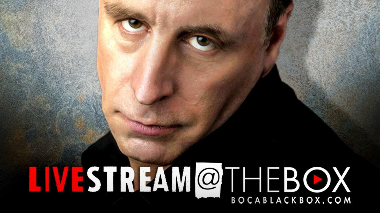 """Comedian Vic DiBitetto: """"Livestream @ The Box"""""""