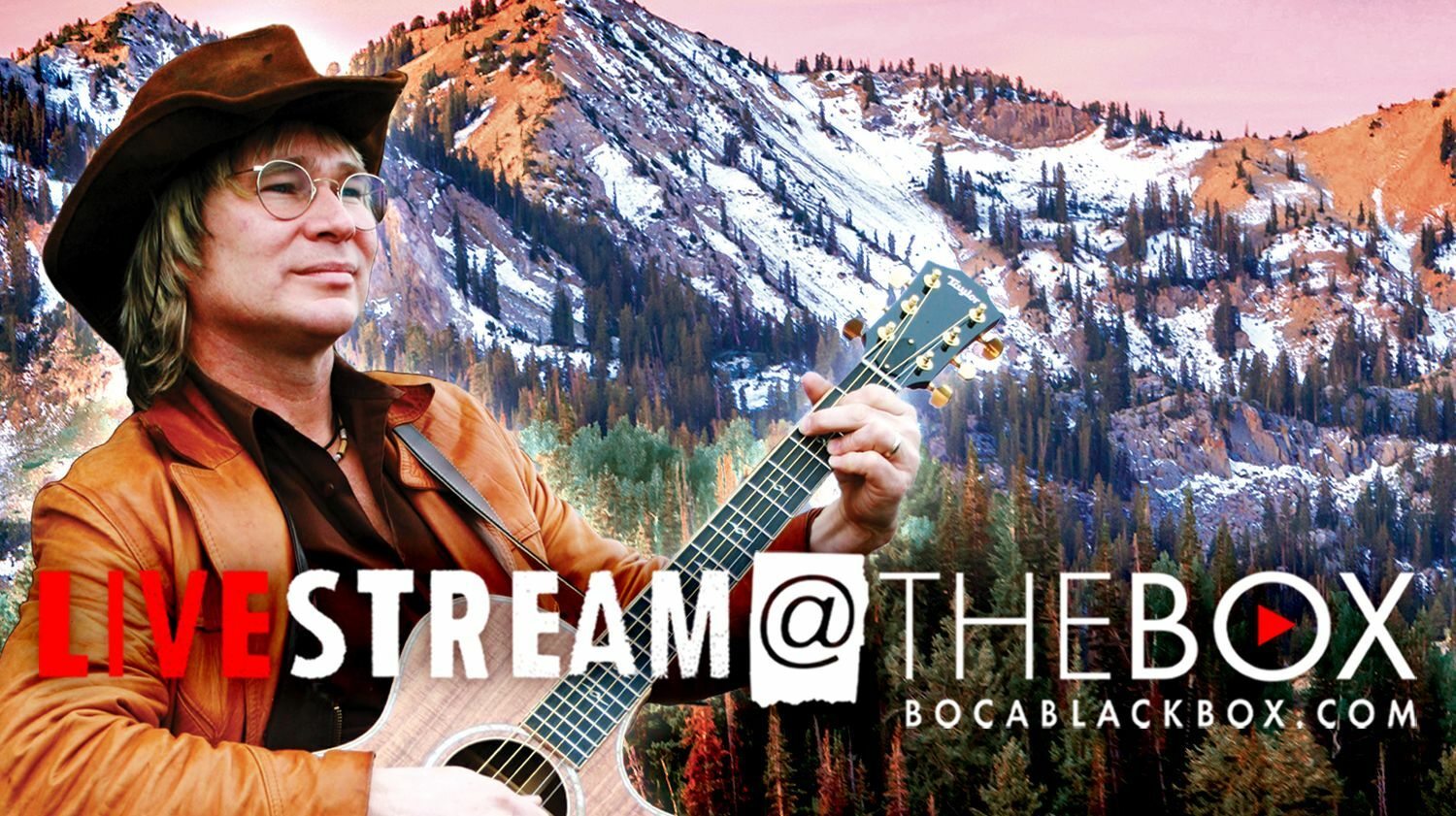 """""""Remembering John Denver Holiday Show"""" With Ted Vigil: """"Livestream @ The Box"""""""