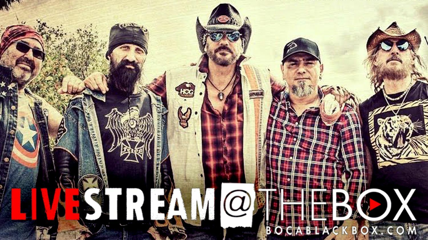 """Southern Blood: A Salute to Southern Rock and Roll: """"Livestream @ The Box"""""""