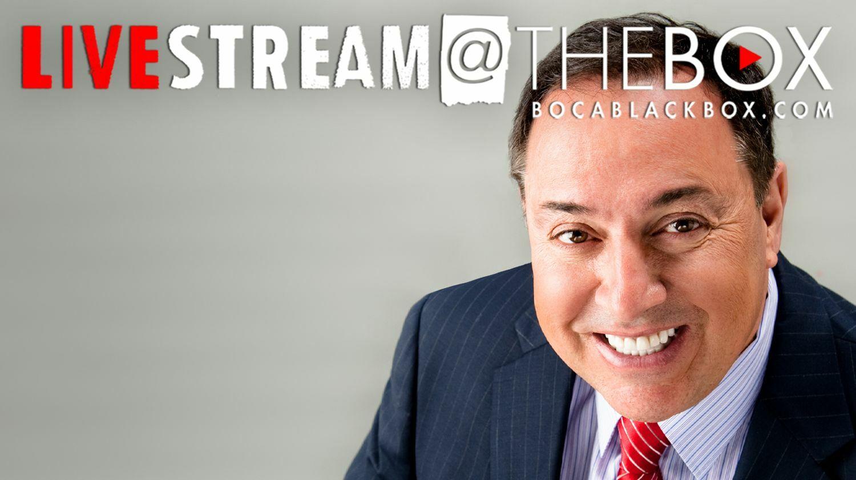 """Comedian Richie Minervini: """"Livestream @ The Box"""""""