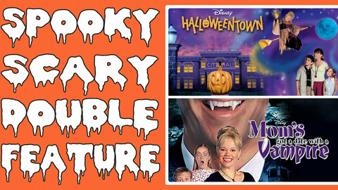 """Spooky Scary Double Feature: """"Halloweentown & Mom's Got A Date With A Vampire"""" -- Online"""