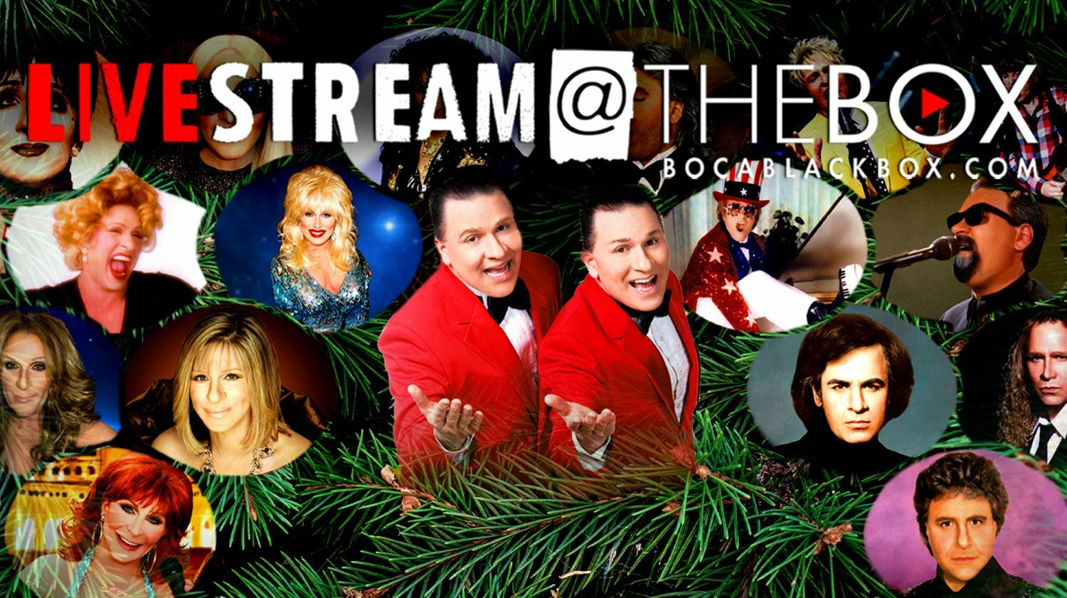 """The Edwards Twins Holiday with the Stars: """"Livestream @ The Box"""""""