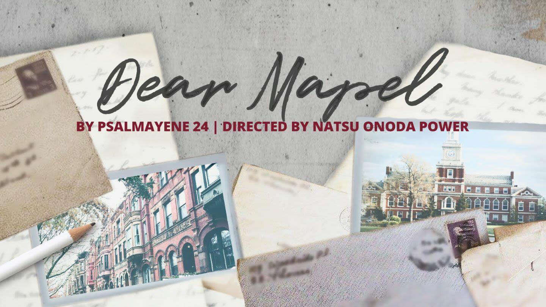 """""""Dear Mapel"""""""