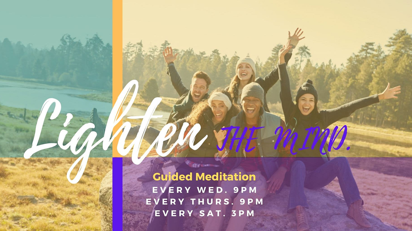 Lighten the Mind: Guided Meditation Experience via Zoom