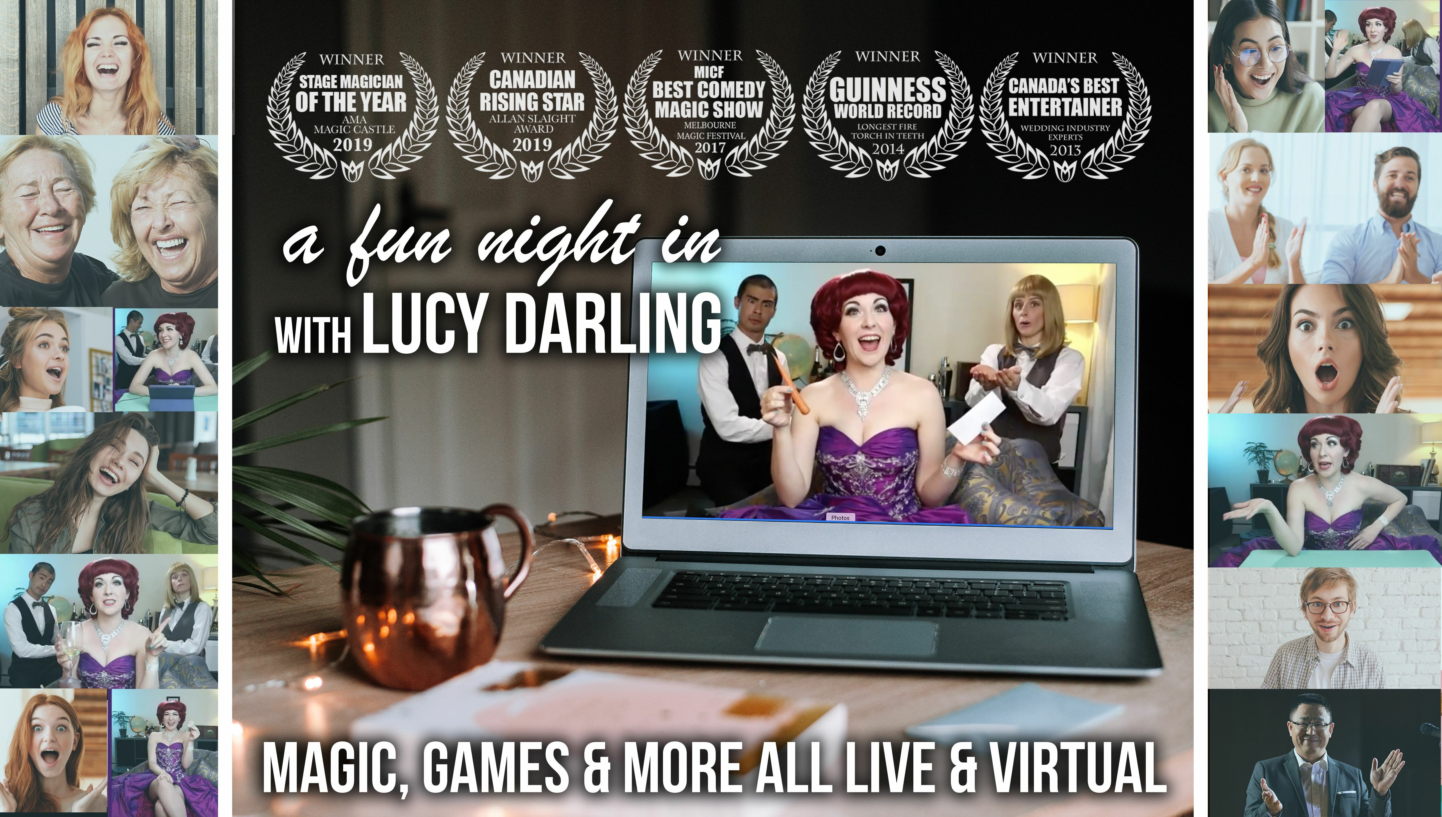 """""""A Fun Night In With Lucy Darling"""" -- Online"""