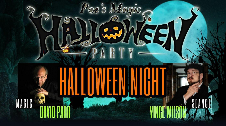 """Poe's Magic Halloween Party"" -- Online"