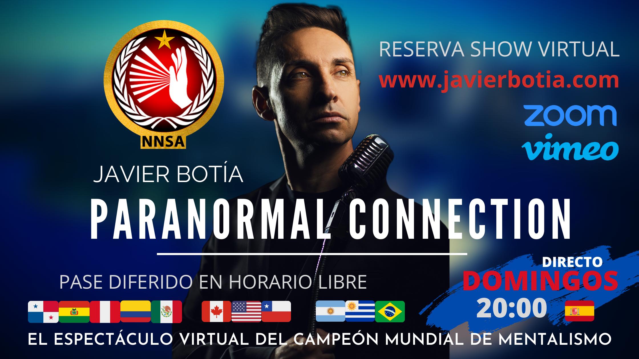 """Paranormal Connection: A la caza del mentalista"" - Online Spanish Show"