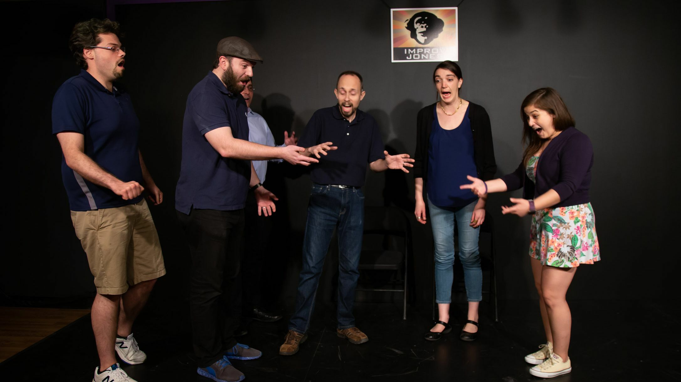 Riot Improv: Stories to Scenes - Online