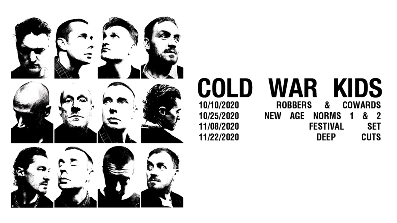 Cold War Kids -- Livestream