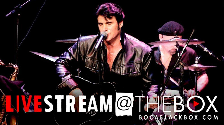 "Chris MacDonald's ""Memories of Elvis: Livestream@The Box"""