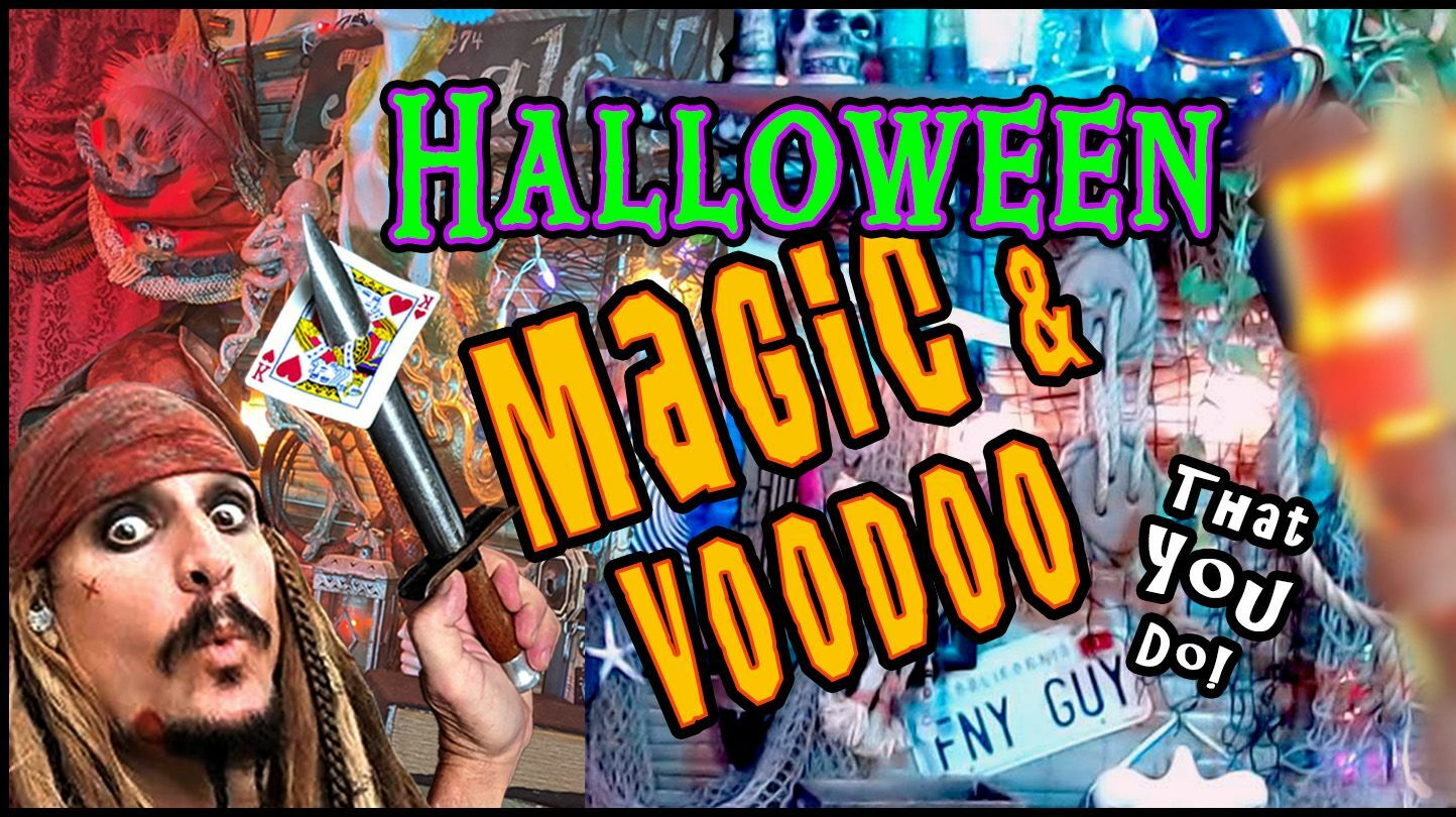 Halloween Magic & Mentalism Show! LIVE on Zoom with Jack Spareribs