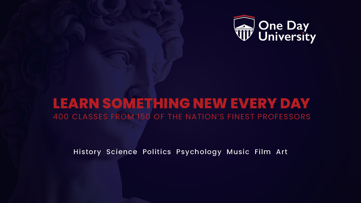 One Day University -- Online Classes