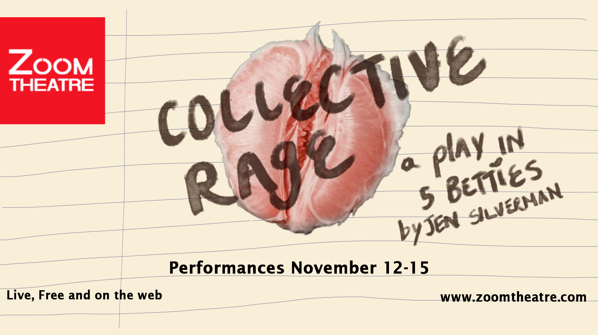 """""""COLLECTIVE RAGE"""": A Play in 5 Betties - Online"""