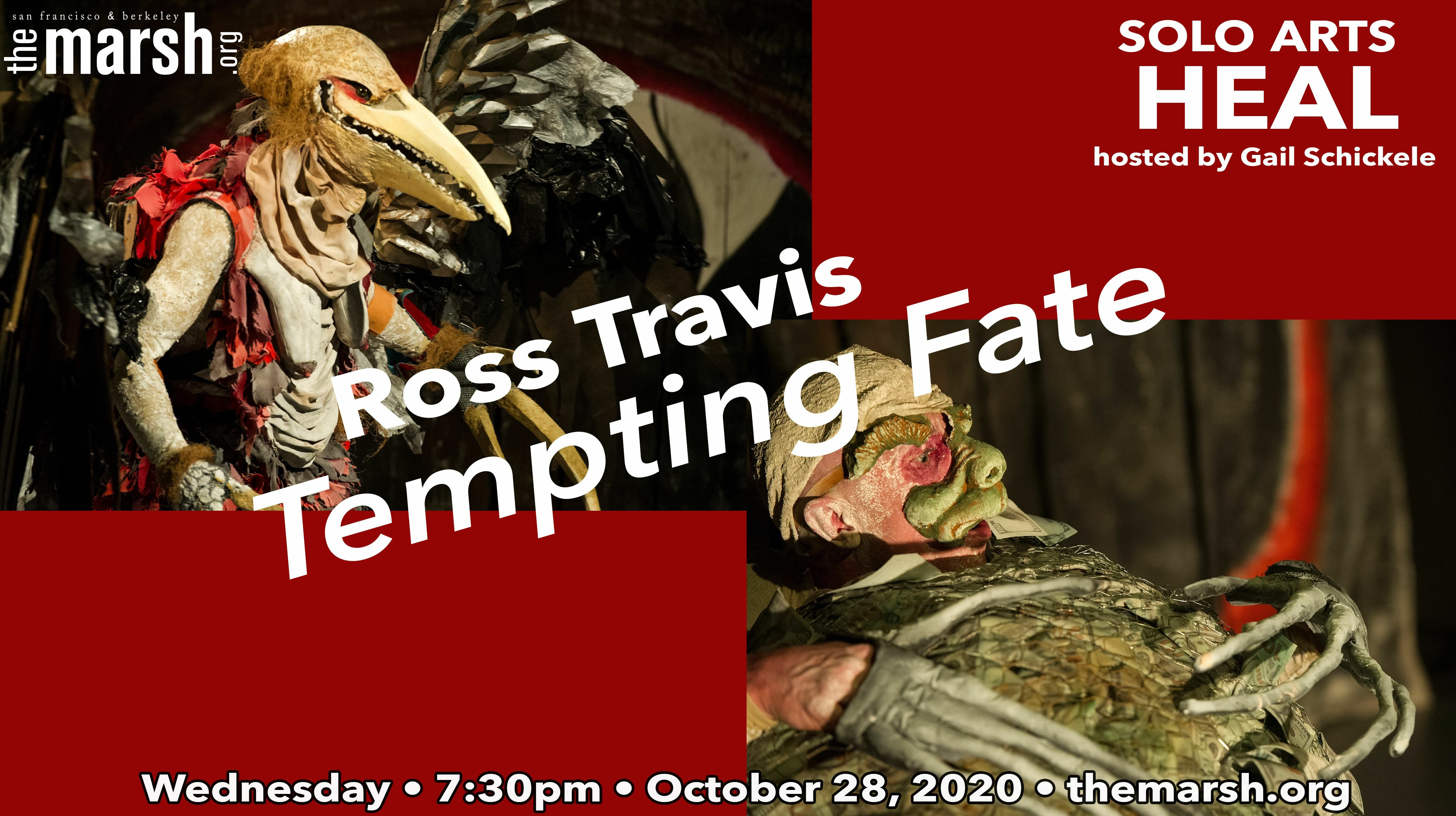 Solo Arts Heal with Ross Travis - Online