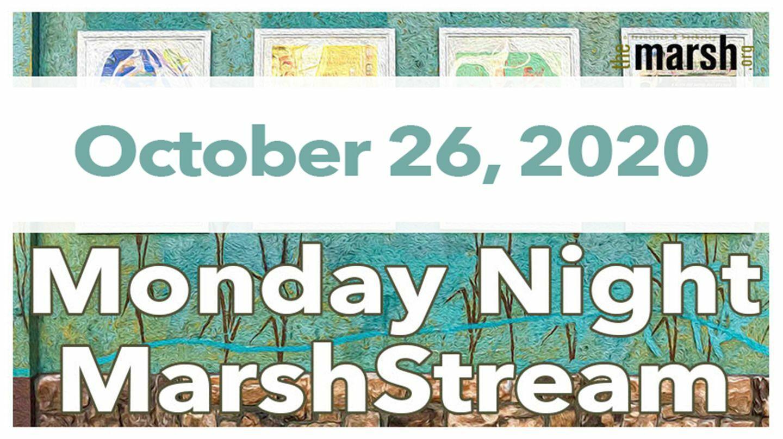Monday Night MarshStream with Amy Greenberg