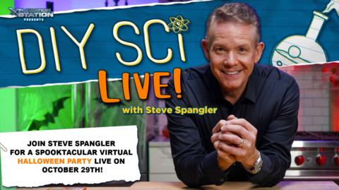 DIY Sci Live!: Spooktacular Halloween Party with Steve Spangler -- Online