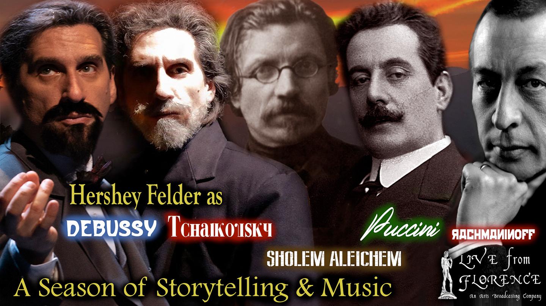 Hershey Felder Live From Florence: 5-Show Season Subscription -- Online
