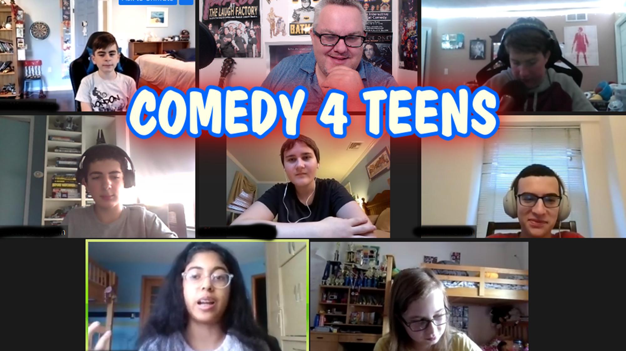 After School Improv 4 Teens - Online